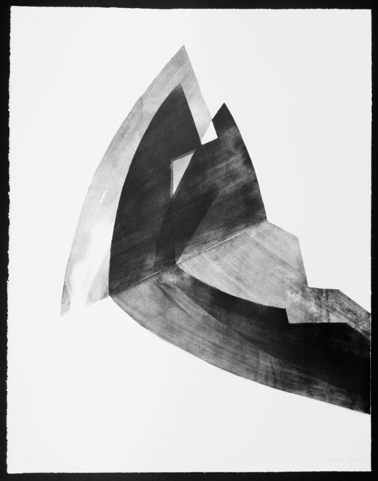 Black on White (Venezia), 70x90 cm, lithograph