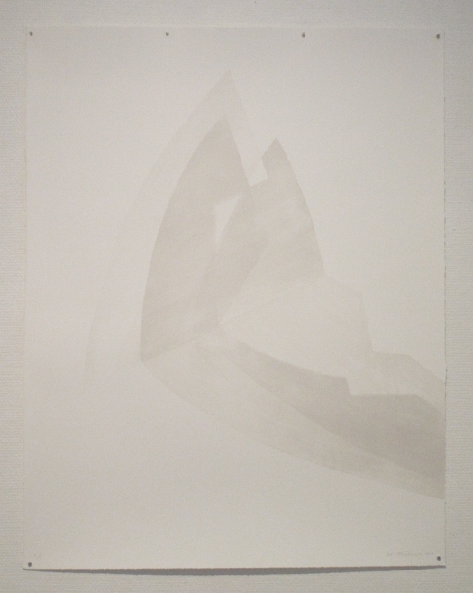 White on white (Venezia), lithograph